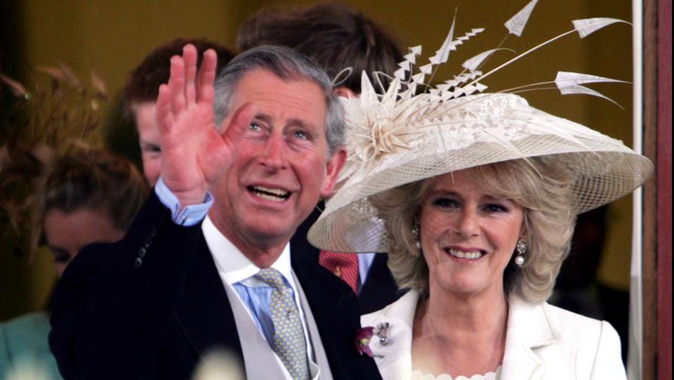 Il matrimonio di Carlo e Camilla, celebrato il 9 aprile 2005 ©