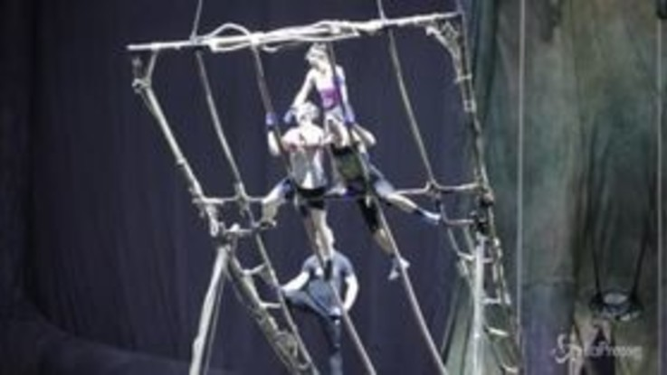 Il Cirque du Soleil a Torino, i preparativi