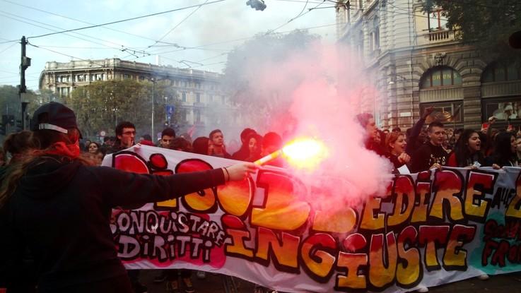 'No Salvini day', cortei in tutta Italia contro il governo e i tagli all'istruzione