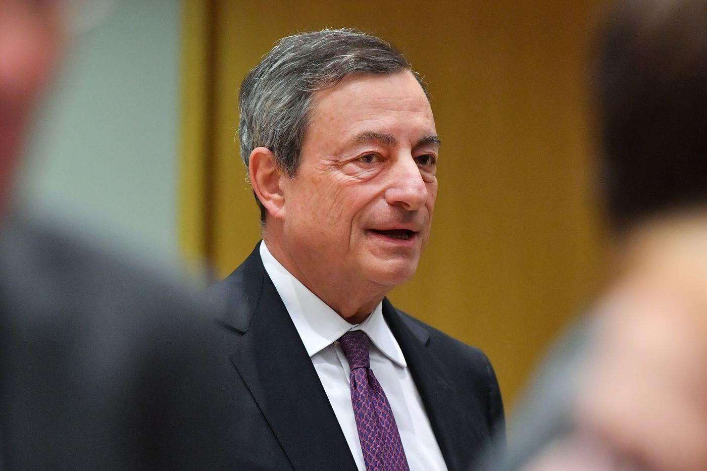 """Draghi: """"Se l'inflazione non cresce non fermeremo il Quantitative Easing"""""""
