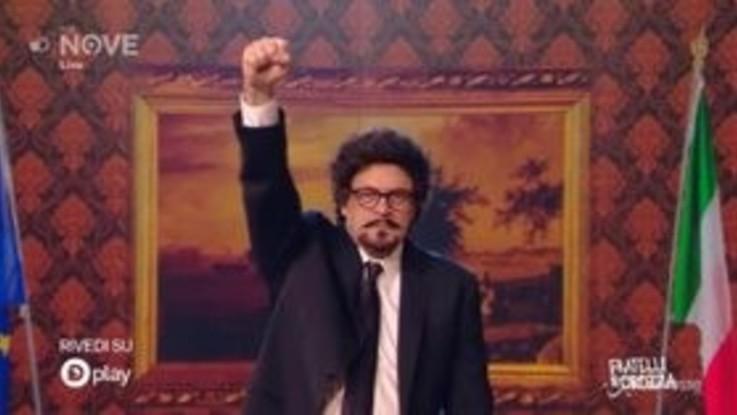 Crozza/Toninelli e l'entusiasmo per il decreto Genova