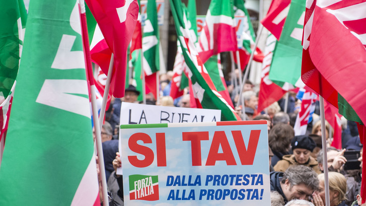 """Tav, Forza Italia striglia la Lega: """"Non farlo è solo follia M5S"""""""