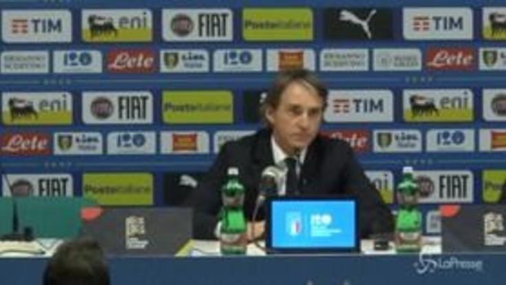 """Mancini: """"I fischi a Bonucci non dovevano esserci"""""""