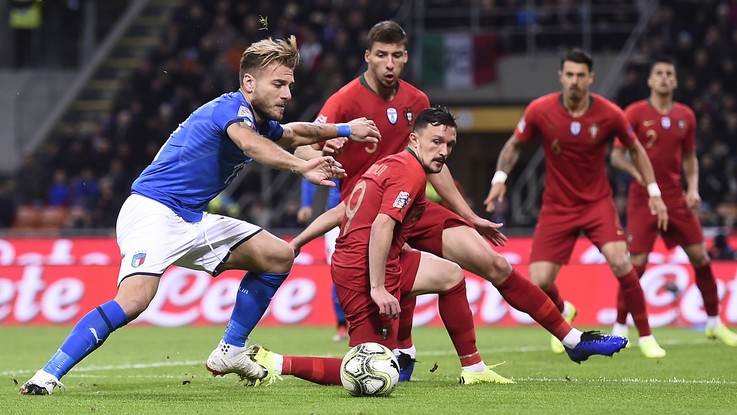 Nations League: pagelle Italia-Portogallo 0-0, Immobile flop