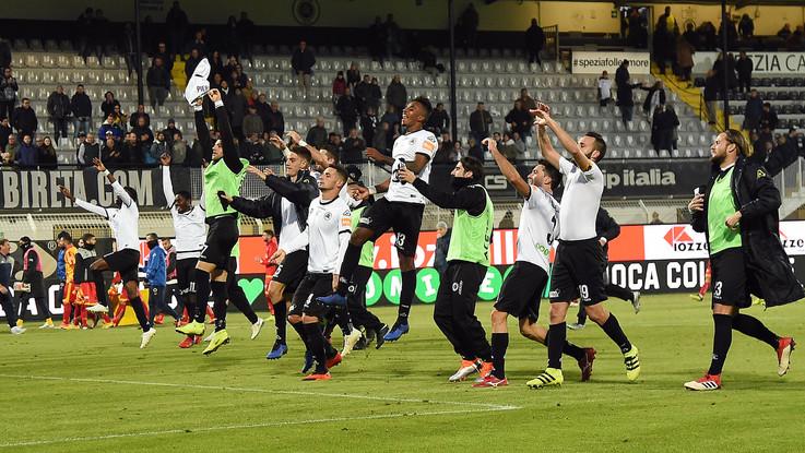 Serie B, Spezia batte Benevento 3-1 nel recupero della decima giornata