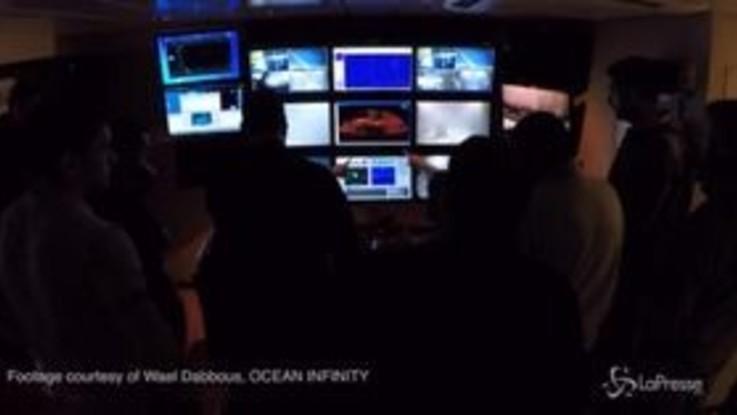 Argentina, le immagini del ritrovamento del sottomarino San Juan