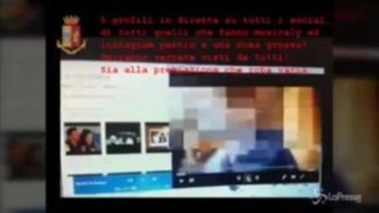 Adescava minori sui social, arrestato a Forlì