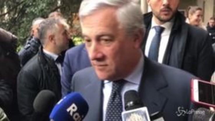 """Manovra, Tajani: """"Il problema è a Roma più che a Bruxelles"""""""