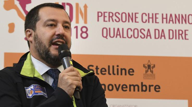 """Governo, Salvini: """"Se non mi fanno saltare, vado fino in fondo"""""""