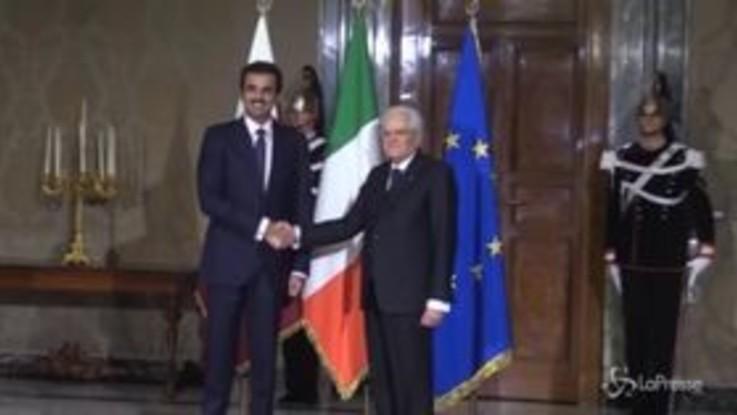 """Golfo Persico, Mattarella: """"Regione strategica, dialogo per soluzioni condivise """""""