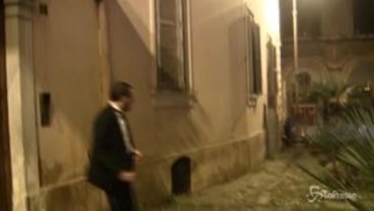 """Salvini in smoking per l'Emiro: """"Con Di Maio tutto chiarito. Se non vogliono inceneritore diano alternativa"""""""
