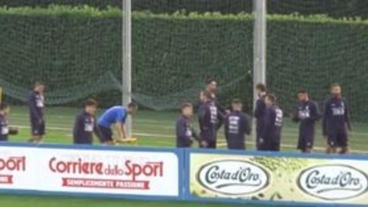 Nazionale in campo: c'è l'amichevole Italia-Usa