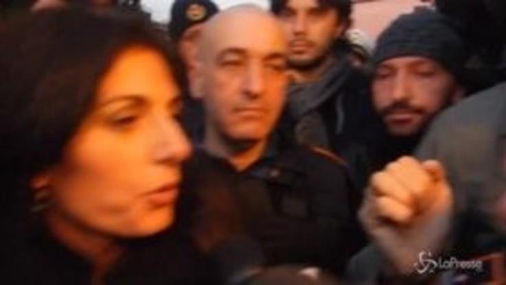 """Ville Casamonica, Raggi: """"Dopo 30 anni riportiamo la legalità in un quartiere di Roma"""""""