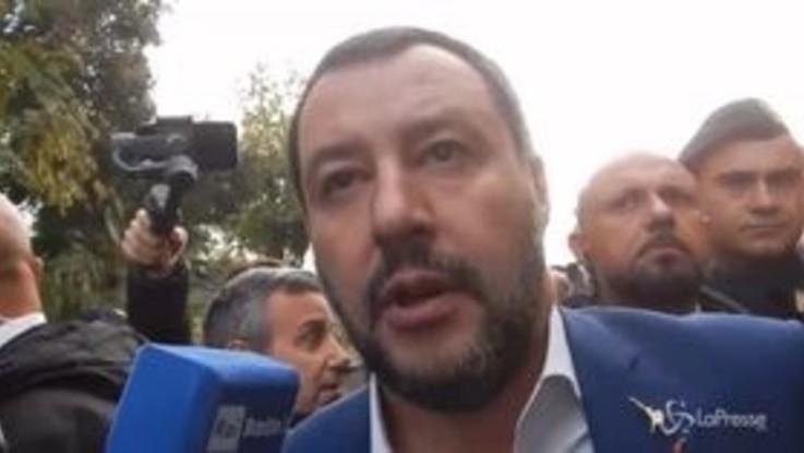 """Casamonica, Salvini: """"La pacchia è finita"""""""