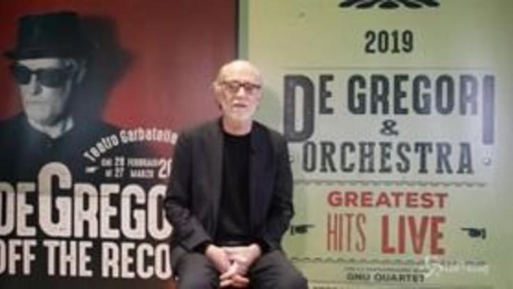 De Gregori, nel 2019 concerti con orchestra al teatro Garbatella di Roma