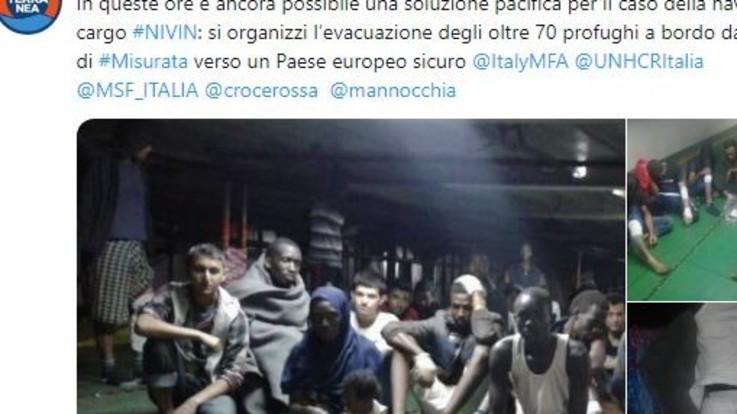 """Migranti, Mediterranea: """"Irruzione delle truppe libiche sulla nave Nivin"""""""