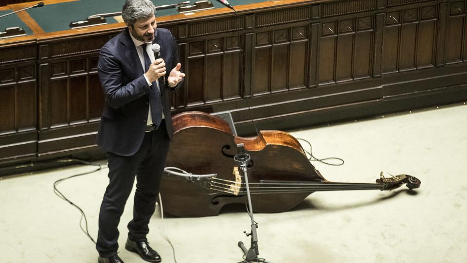 Il presidente della Camera, Roberto Fico ©