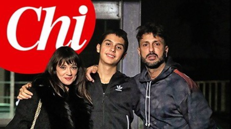 """Asia Argento incontra il figlio di Fabrizio Corona: """"Carlos è un ragazzo straordinario"""""""