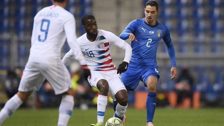 Amichevole, Italia-Usa 1-0 | Il Fotoracconto
