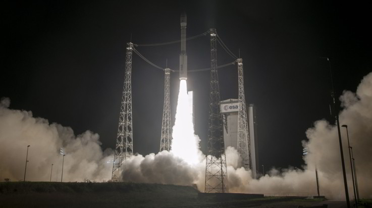 Vega, in orbita un satellite per l'osservazione terrestre