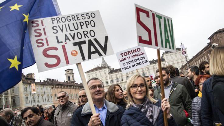 Tav, a Torino stati generali degli industriali per il 'sì'. Pd contro Appendino