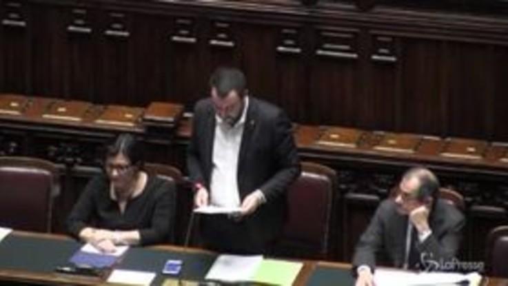 """Casamonica, Salvini: """"Lunedì 26 alla Romanina per abbattere un'altra villa"""""""
