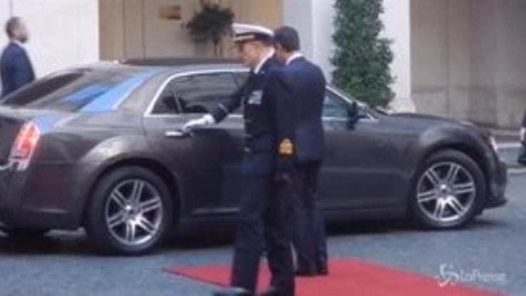 Palazzo Chigi, Conte accoglie il primo ministro della Repubblica Slovacca