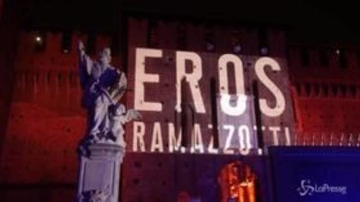 """Eros Ramazzotti riparte da 'Vita ce n'è': """"L'amore è al centro"""""""