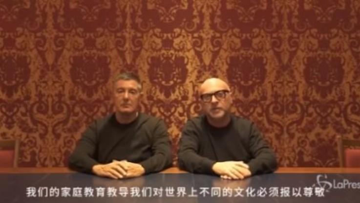 """Dolce e Gabbana si scusano con la Cina: """"Abbiamo commesso errori a interpretare la vostra cultura: non succederà più"""""""
