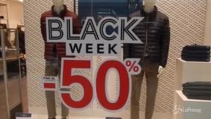 Black Friday a Roma: grandi affari nei centri commerciali