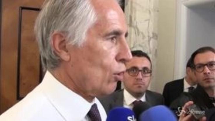 """Riforma Coni, Malagò: """"Passi avanti nel dialogo con il governo"""""""