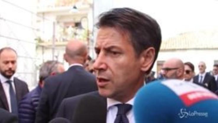 """Manovra, Conte: """"Non sono preoccupato per incontro con Juncker"""""""