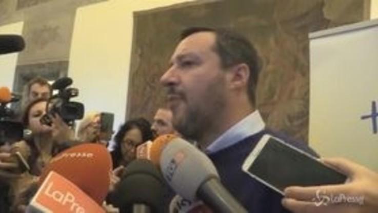 """Manovra, Salvini: """"Sì al dialogo con Ue, ma non su quota 100"""""""