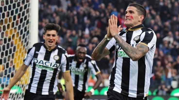 Serie A, Roma flop a Udine: De Paul regala prima gioia a Nicola