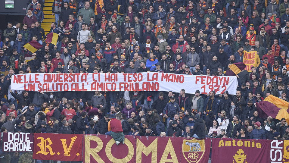 Tifosi della Roma ©