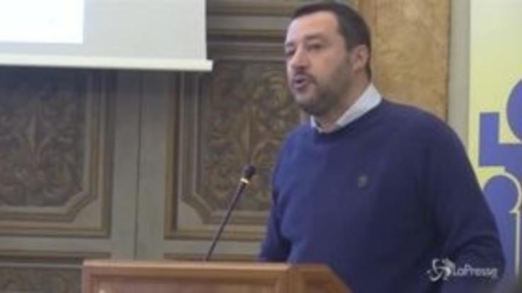 """Governo, Salvini: """"I sondaggi possono darmi al 92% ma vado avanti col contratto"""""""