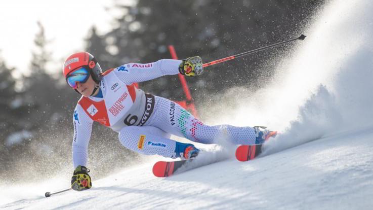 Coppa del mondo di sci alpino: Brignone trionfa nello slalom gigante donne di Killington