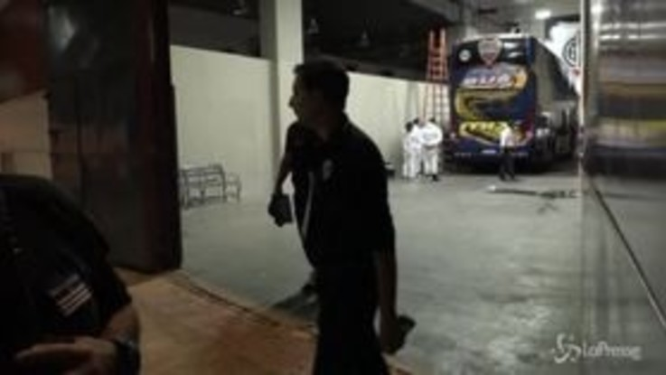 Scontri prima della finale di Copa Libertadores