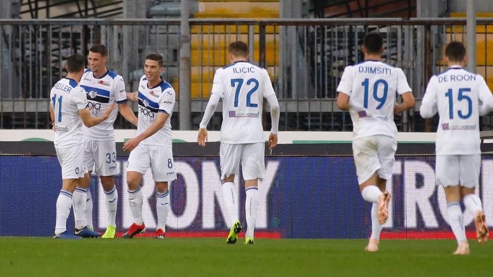 33' Atalanta in vantaggio! Gol realizzato da Remo Freuler. Siamo: 0-1 ©