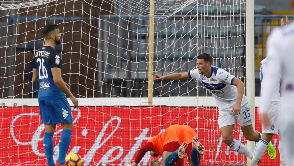 Hateboer esulta per il gol ©
