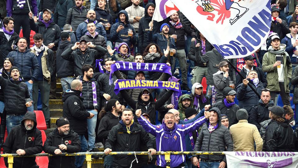 i tifosi della Fiorentina ©
