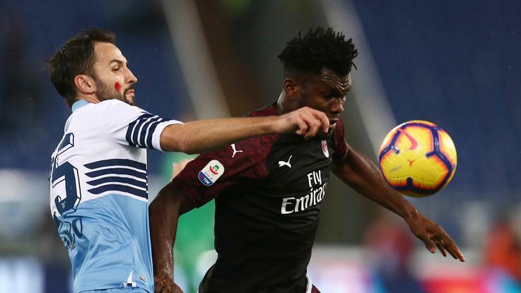 Serie A, non basta Kessié al Milan, Correa salva la Lazio nel finale. All'Olimpico è 1-1
