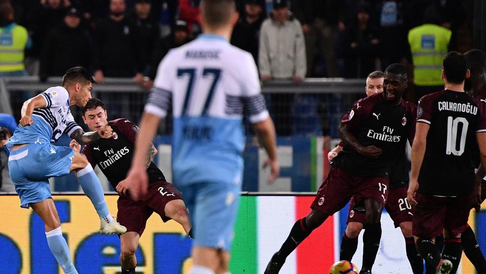90+4' Correa porta la Lazio al pareggio ©