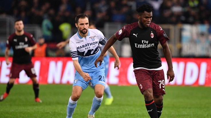 Serie A, Lazio-Milan 1-1 | Il fotoracconto