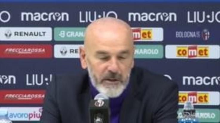 """Bologna-Fiorentina, Pioli: """"Il risultato di oggi non è giusto, avremmo meritato un'altra classifica"""""""