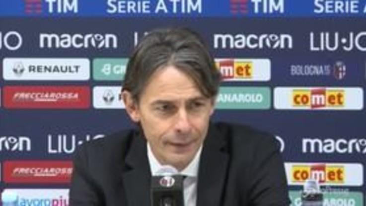 """Bologna, Inzaghi: """"Sono preoccupato da inizio anno. Dobbiamo ritrovare la vittoria"""""""