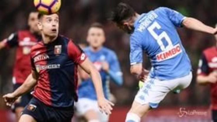 Serie A, 1-1 tra Genoa e Samp nel derby della Lanterna