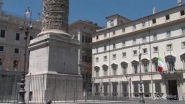 Manovra, vertice tra Conte, i due vicepremier e Tria