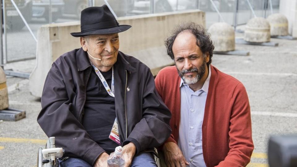 Bertolucci con Luca Guadagnino al Salone del Libro di Torino (2018) ©