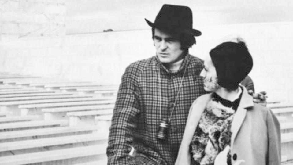 Bertolucci sul set del film 'Il conformista' (1969) ©